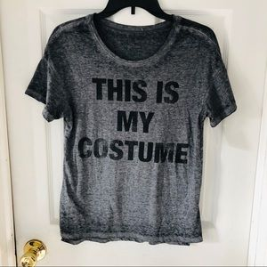 NWOT LOL VINTAGE grey this is my costume shirt XS